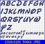 alfabeto disney in corsivo-disney-corsivo-jpg