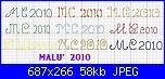 """Chi mi aiuta con due iniziali a punto scritto...""""M e C""""-m-c-2010-jpg"""