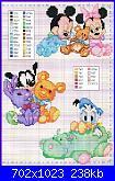 """cerco questo schema """"Minnie e topolino baby"""" più leggibile.-disney-babies8-jpg"""