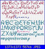 alfabeto disney in corsivo-font-disney-minuscolo-e-maiuscolo-jpg