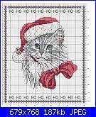 Cerco schema: gatto natalizio-gato-jpg