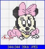 Quadretto con Minnie Baby-minnie-jpg