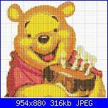 Winnie the pooh con la torta di compleanno-winnie-pooh-con-torta-jpg