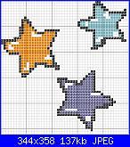 Mi servirebbero i  schemi punto croce yoyo cici-stelle-jpg