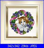 gatto nella ghirlandina-gatt-ghirl-jpg