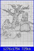 "winnie pooh albero di Natale:""Winnie and Friends Christmas Tree""-d-101-eeyore-winter-snowman-2-jpg"