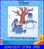"winnie pooh albero di Natale:""Winnie and Friends Christmas Tree""-ds-d-101-eeyore-winter-snowman-jpg"