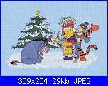 "winnie pooh albero di Natale:""Winnie and Friends Christmas Tree""-x-003-poohs-christmas-carol-jpg"