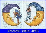 Cerco bebè appeso con spilla da balia, bimbo e fatina su luna, fatina.-126373-f997d-36545661-m549x500-jpg