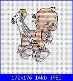 Cerco bebè appeso con spilla da balia, bimbo e fatina su luna, fatina.-136627-b6e24-26022503-m750x740-jpg