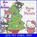 Hello Kitty Abero di Natale-buon-natale-hello-kitty-jpg