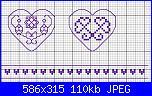 Schemi per portachiavi a forma di cuore-p-2-jpg