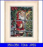 """Cerco Babbo Natale alla finestra - Dimensions """"Candy Cane Santa""""-candy-cane-santa-jpg"""