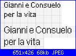 """scritta """"Gianni e Consuelo per la vita""""-gianni-e-consueolo-x-la-vita-jpg"""