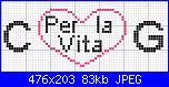 """scritta """"Gianni e Consuelo per la vita""""-c-g-x-la-vita-jpg"""