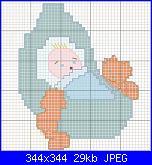 Cerco disegni per ricamare dei fiocchi per nascita-culla-jpg