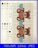Ecco 2 schemi con orsetti.-orsetti-e-cuoricini-jpg