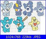 gli orsetti del cuore / CARE BEARS-cuore-2-jpg