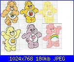 gli orsetti del cuore / CARE BEARS-cuore-3-jpg