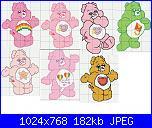 gli orsetti del cuore / CARE BEARS-cuore-4-jpg