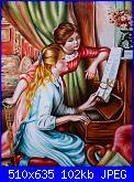 cerco schemi paeseggi (dimension)-2-ragazze-al-piano-di-renoir-2006-olio-t-40x5-jpg