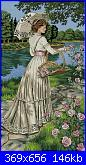 """cerco schema Dimensions Crewel 1483 """"Romance For Roses""""-pict-jpg"""
