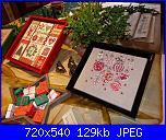 cerco UB DESIGNS 859 - Patchworklady 2 e Acufactum - Landhaus Weihnacht-p1010547-jpg
