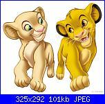 "Schemi ""il re leone""-nala_simba_2%5B1%5D-jpg"