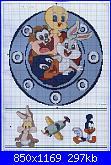 legenda colori Looney Tunes dalla rivista Marileny Ponto Cruz - nº08-marileny-ponto-cruz-n%C2%BA08_3-jpg