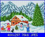 Skemi CLUB PUNTO CROCE-chalet_paesaggio_decorazione_bambino_neve-2332b-jpg