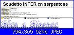 schemi Scudetto Inter / Stemma Inter-scudetto-inter-cn-serpentone-parte-4-jpg