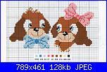 schemi punto croce facilissimo baby-cagnolini-jpg