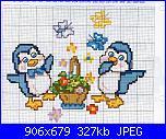 schemi punto croce facilissimo baby-pinguini-jpg