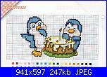 schemi punto croce facilissimo baby-pinguini-2-jpg