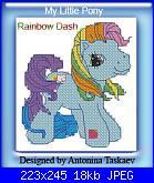 """Schema Pony di """"My little pony""""-dash-jpg"""