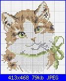 Schema gatto con fiocco verde-gattino_fiocco_verde-jpg