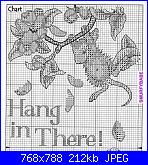 """colori dmc x Dimensions 65041 House Mouse """"Hang In There""""-hang_in_there_1-jpg"""