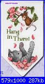 """colori dmc x Dimensions 65041 House Mouse """"Hang In There""""-hang-there-jpg"""