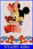 Fiocco nascita con Minnie baby-infantil-punto-de-cruz-2-34-jpg