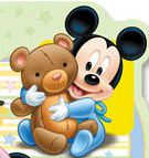 scritta Mamma e Nicolò + baby mickey-lkj-jpg