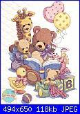 Cerco schema Toy Shelf Birth Record o sito dove acquistarlo?-teddy-friends-quilt-jpg