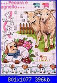 caprette a punto croce-pecora-agnello2-jpg