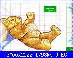 schema per lommy: bimbo che dorme con orsacchiotto.-imm2-jpg