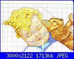 schema per lommy: bimbo che dorme con orsacchiotto.-copiare-parte-sup-capelli-jpg
