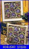 """rivista """"Labores de Ana"""" / OOE """"65161 Market Bounty"""" e """"65160 Violet Nosegay""""-sacchetti-fiori-foto-jpg"""