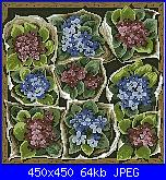 "rivista ""Labores de Ana"" / OOE ""65161 Market Bounty"" e ""65160 Violet Nosegay""-fiori-jpg"