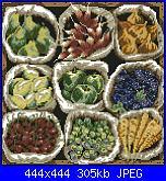 "rivista ""Labores de Ana"" / OOE ""65161 Market Bounty"" e ""65160 Violet Nosegay""-fruits-jpg"