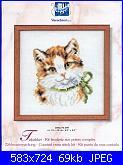 Schema gatto con fiocco verde-gattino1a-jpg