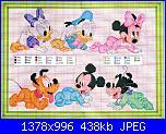 PAPERINO BABY o famiglia paperini per fiocco nascita-quadro-6-baby-disney-jpg