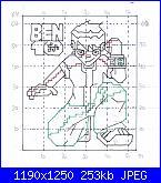 "Ben 10 / Ben Ten / BenTen / Benjamin ""Ben"" Tennyson-ben10-esquema-jpg"